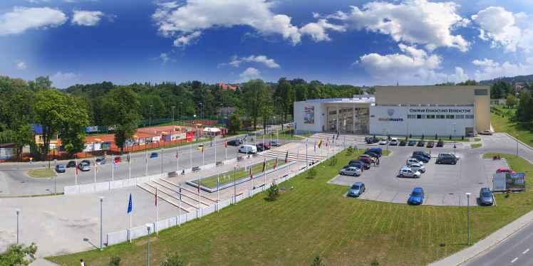 Prezentacja panoramiczna dla obiektu Solne Miasto w Wieliczce