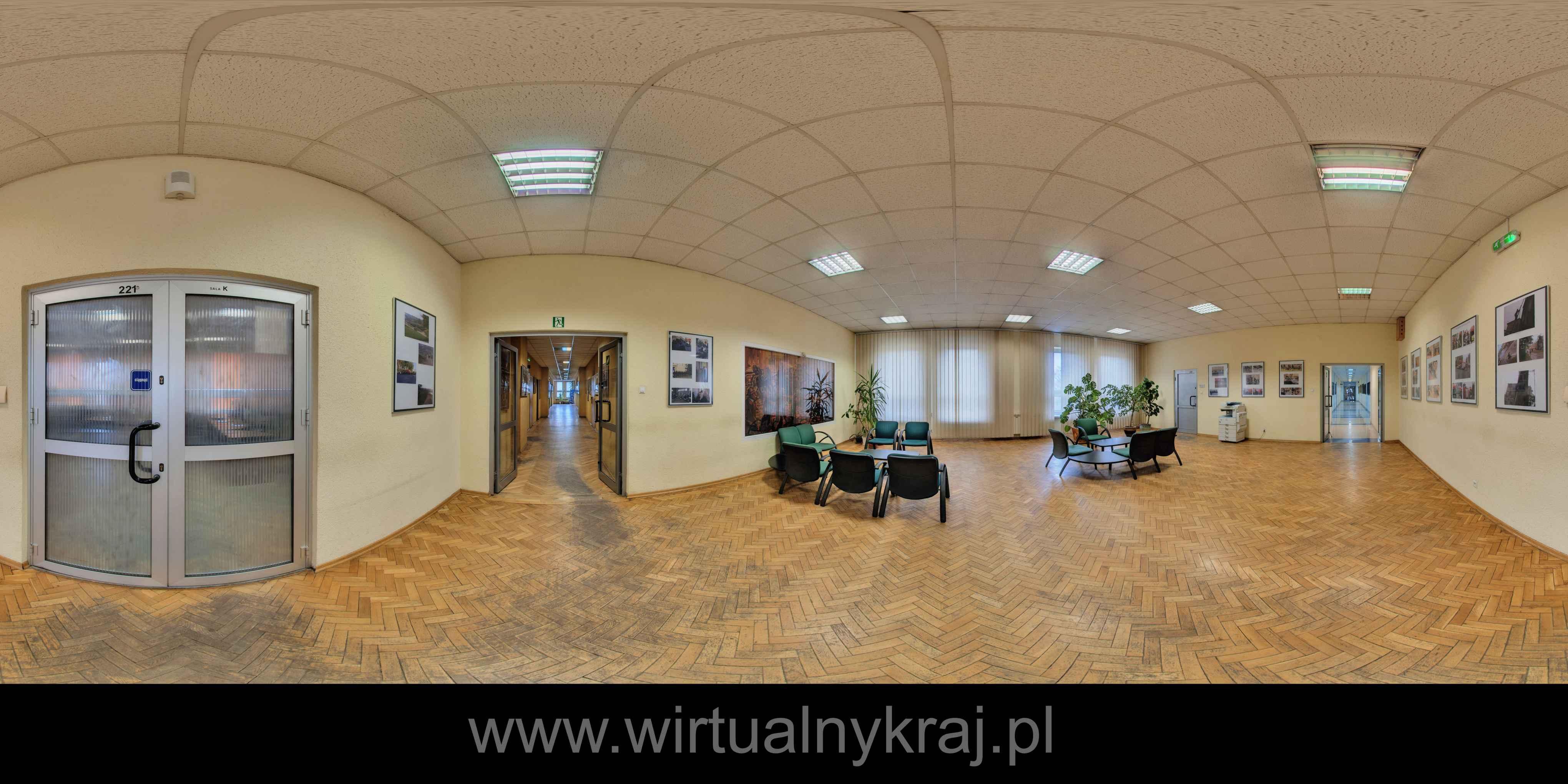 Prezentacja panoramiczna dla obiektu Szkoła Aspirantów Państwowej Straży Pożarnej w Krakowie