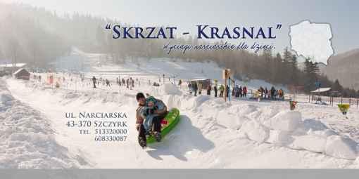 """Prezentacja panoramiczna dla obiektu Wyciągi narciarskie dla dzieci """"Skrzat - Krasnal"""""""