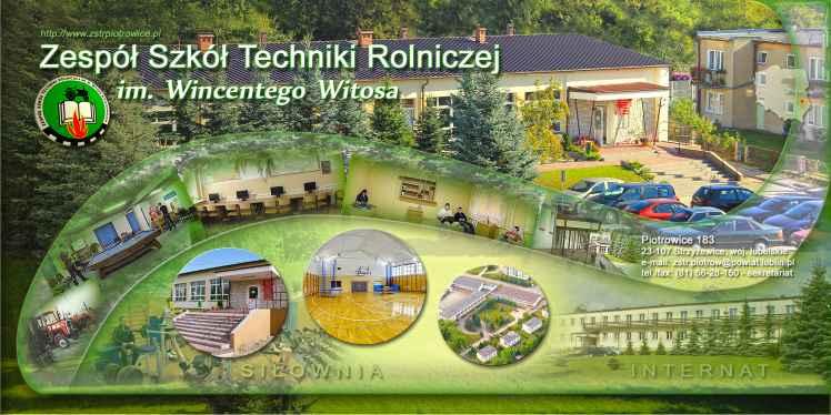 Prezentacja panoramiczna dla obiektu ZS Techniki Rolniczej im. Wincentego Witosa