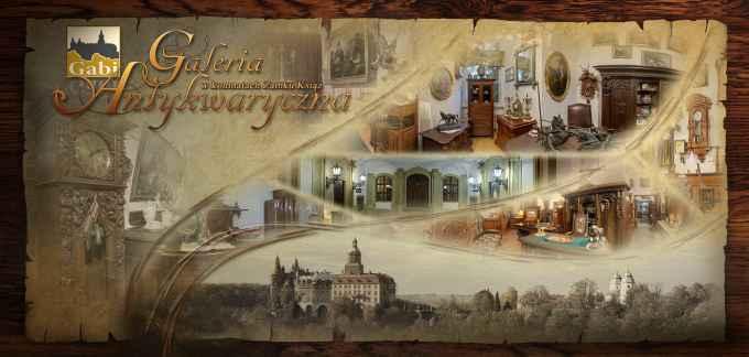 Prezentacja panoramiczna dla obiektu Galeria antykwaryczna w Zamku Książ