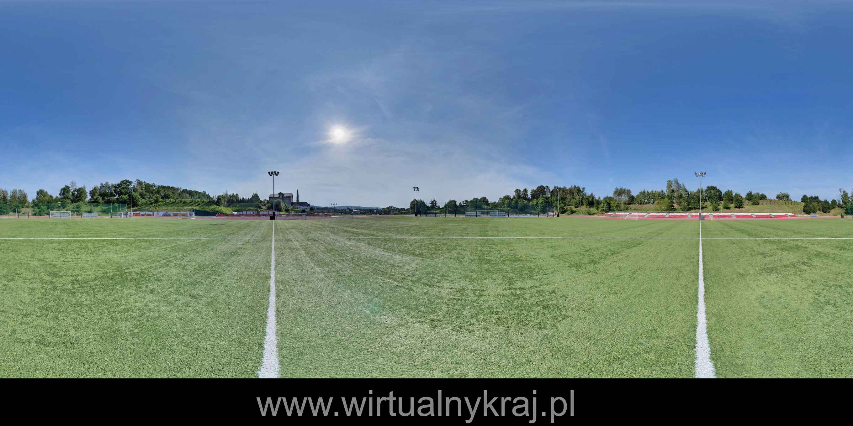 Prezentacja panoramiczna dla obiektu Małopolska Arena Lekkoatletyczna w Wieliczce