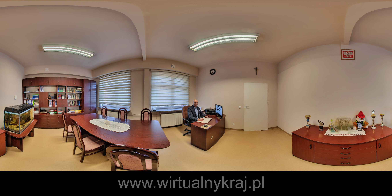 Prezentacja panoramiczna dla obiektu Zespół Szkół Ponadgimnazjalnych w Giebułtowie