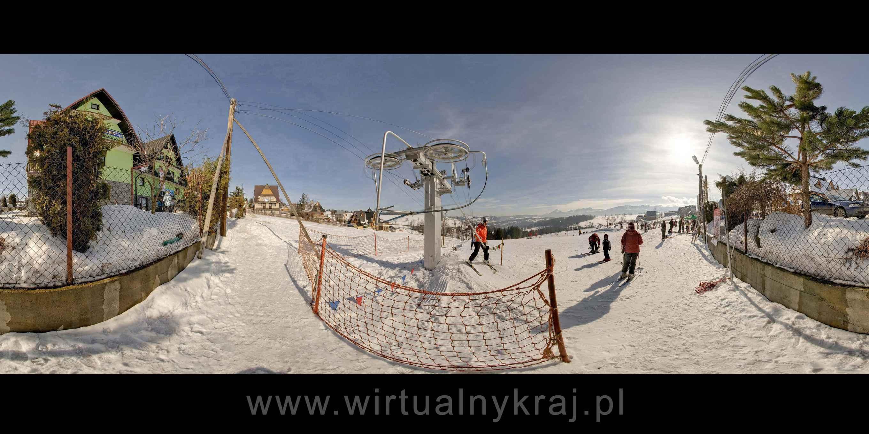 Prezentacja panoramiczna dla obiektu Wyciąg narciarski - POTOCZKI