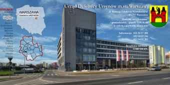 Prezentacja panoramiczna dla obiektu Urząd Dzielnicy Ursynów