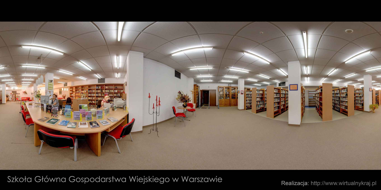 Prezentacja panoramiczna dla obiektu Biblioteka Główna SGGW im.Władysława Grabskiego