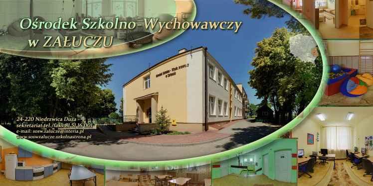 Prezentacja panoramiczna dla obiektu Specjalny Ośrodek Szkolno-Wychowawczy w Załuczu