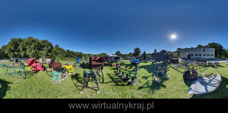 Prezentacja panoramiczna dla obiektu Muzeum Państwowego Gospodarstwa Rolnego