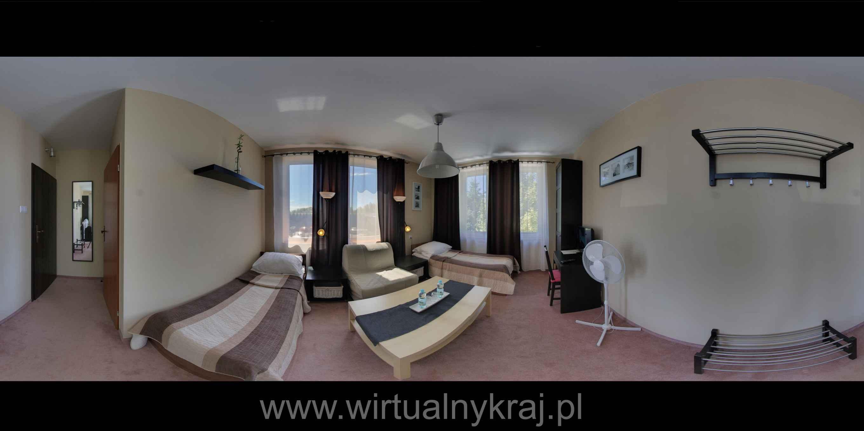 Prezentacja panoramiczna dla obiektu Hostel Zamość