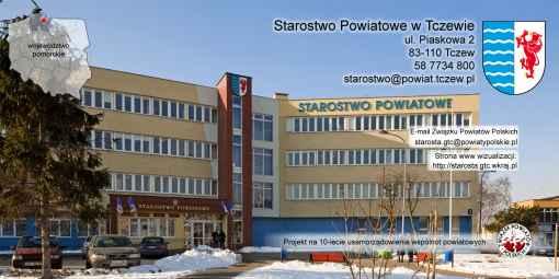 Prezentacja panoramiczna dla obiektu Starostwo Powiatowe w Tczewie