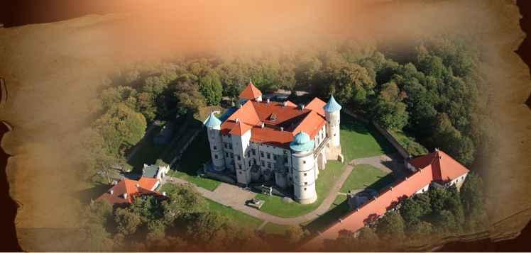 Prezentacja panoramiczna dla obiektu Zamek w Wiśniczu