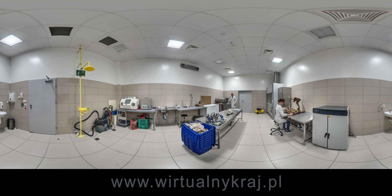 Prezentacja panoramiczna dla obiektu Centrum Edukacji Przyrodniczej UJ