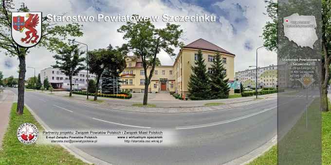 Prezentacja panoramiczna dla obiektu Starostwo Powiatowe w Szczecinku