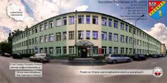 Prezentacja panoramiczna dla obiektu Starostwo Powiatowe w Radomiu