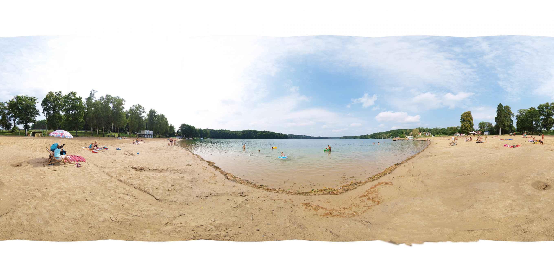"""Prezentacja panoramiczna dla obiektu Szlak """" Słoneczne Plaże"""""""