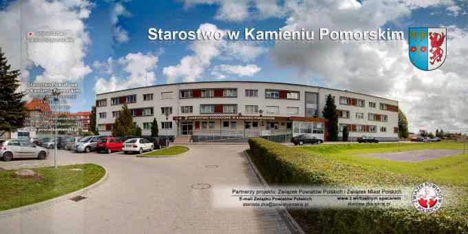 Prezentacja panoramiczna dla obiektu Starostwo Powiatowe w Kamieniu Pomorskim