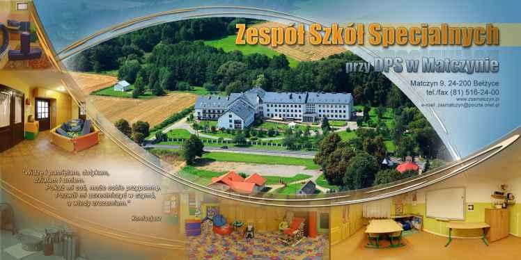 Prezentacja panoramiczna dla obiektu Zespół Szkół Specjalnych w Matczynie