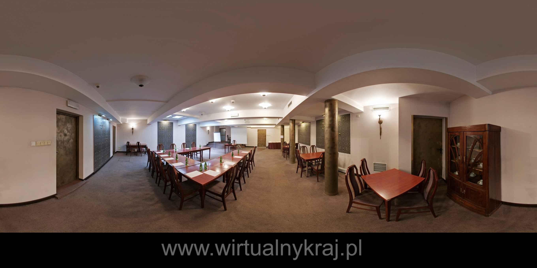 Prezentacja panoramiczna dla obiektu Hotel SECESJA