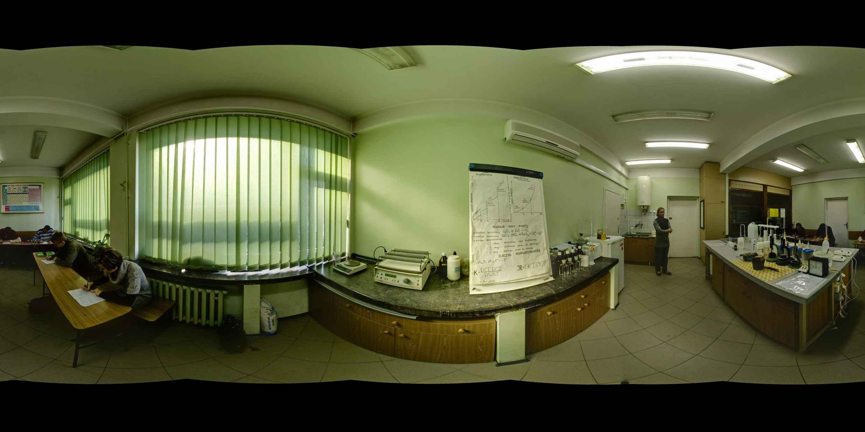 Prezentacja panoramiczna dla obiektu Wydział Inżynierii Lądowej Politechniki Krakowskiej