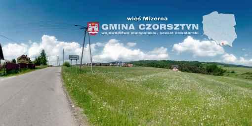 Prezentacja panoramiczna dla obiektu wieś MIZERNA