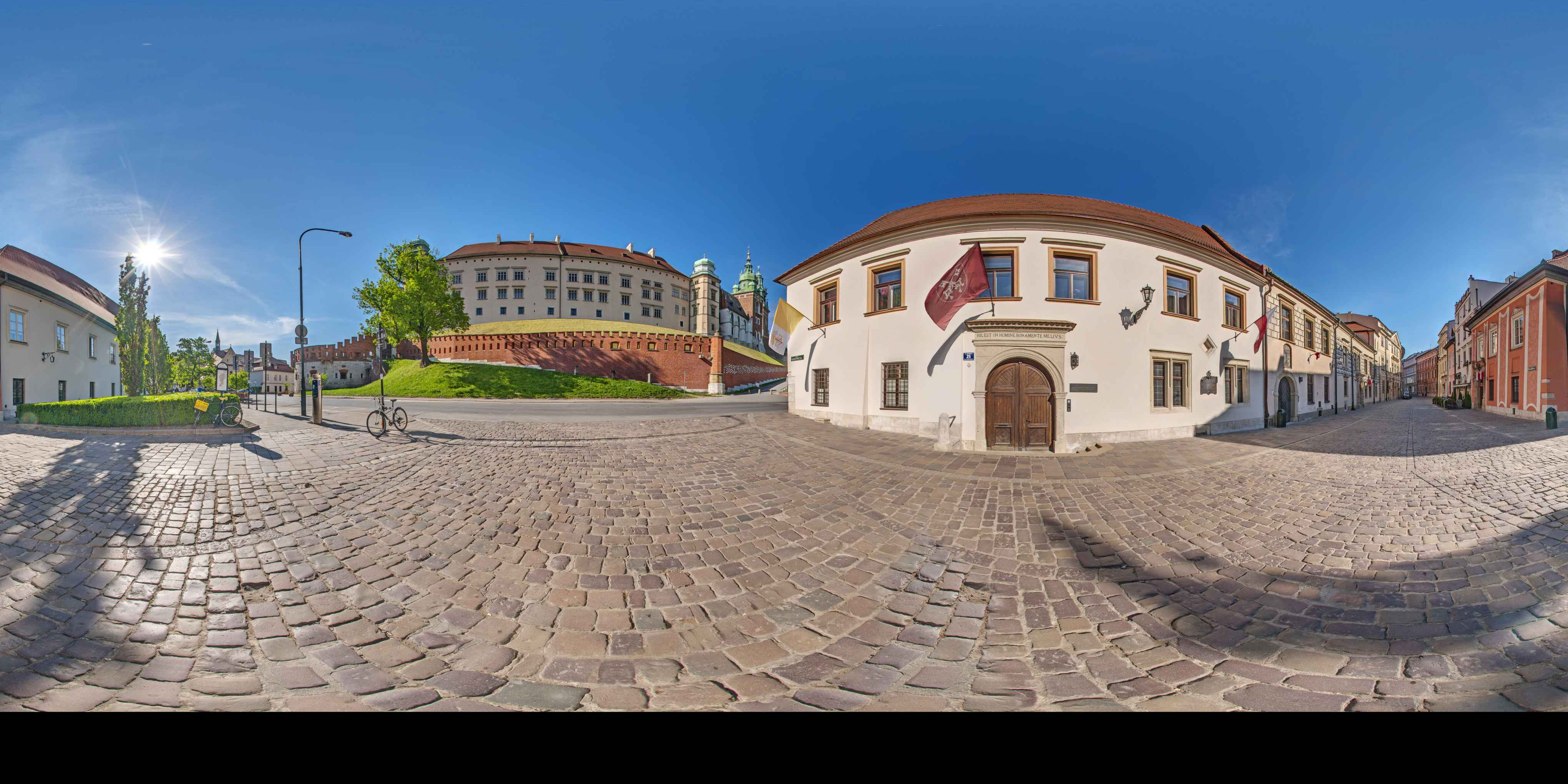 Prezentacja panoramiczna dla obiektu Uniwersytet Papieski Jana Pawła II w Krakowie
