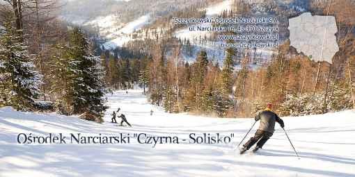 """Prezentacja panoramiczna dla obiektu Ośrodek Narciarski """"Czyrna - Solisko"""""""