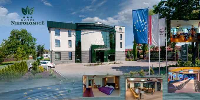Prezentacja panoramiczna dla obiektu Hotel Niepołomice