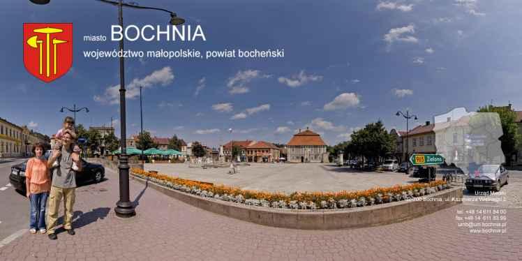 Prezentacja panoramiczna dla obiektu miasto BOCHNIA