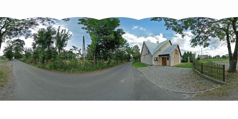Prezentacja panoramiczna dla obiektu wieś CZADRÓW