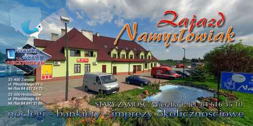 Prezentacja panoramiczna dla obiektu Zajazd Namysłowiak