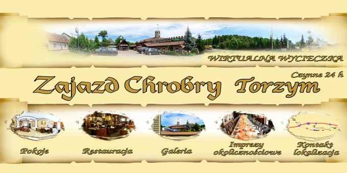 Prezentacja panoramiczna dla obiektu Zajazd Chrobry