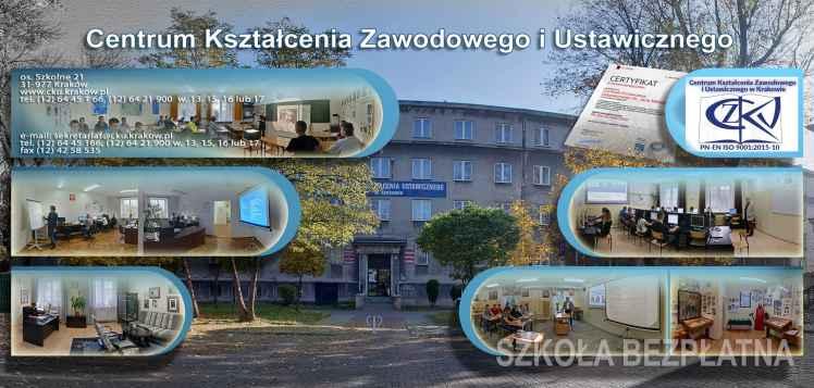 Prezentacja panoramiczna dla obiektu Centrum Kształcenia Ustawicznego im. Jana Matejki w Krakowie