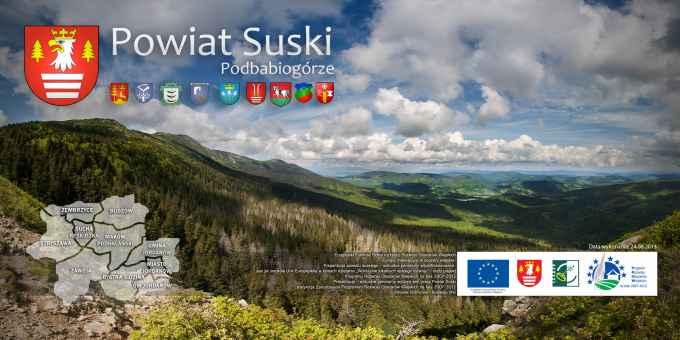 Prezentacja panoramiczna dla obiektu Wirtualny Spacer po Powiecie Suskim