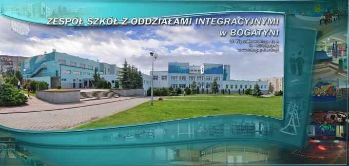 Prezentacja panoramiczna dla obiektu Zespół Szkół z Oddziałami Integracyjnymi w Bogatyni