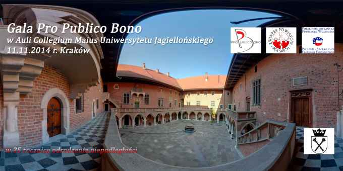 Prezentacja panoramiczna dla obiektu Gala Pro Publico Bono