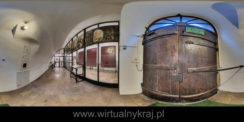 Prezentacja panoramiczna dla obiektu Archiwum Nauki PAN i PAU w Krakowie - 2017 r.