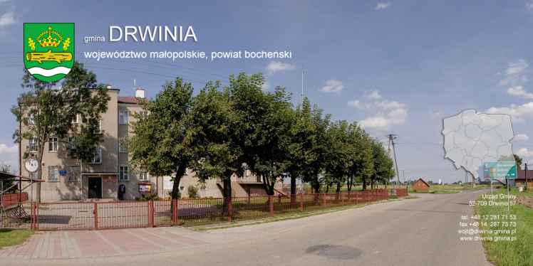 Prezentacja panoramiczna dla obiektu gmina DRWINIA