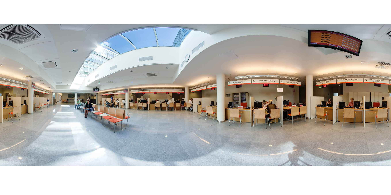 Prezentacja panoramiczna dla obiektu Urząd Dzielnicy Bielany