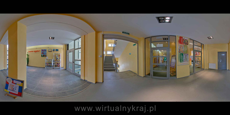Prezentacja panoramiczna dla obiektu Miejsko-Gminna Biblioteka Publiczna w Polkowicach