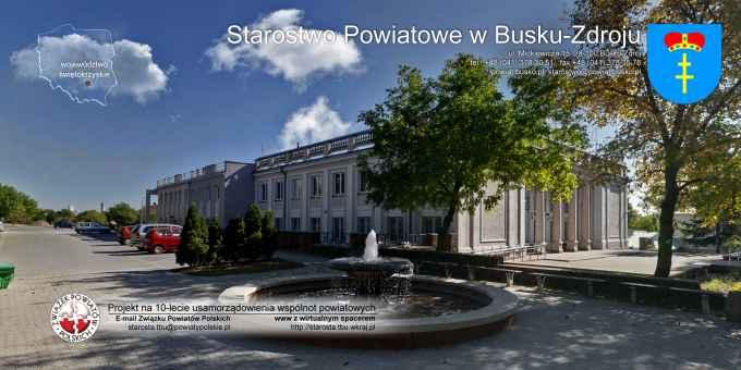 Prezentacja panoramiczna dla obiektu Starostwo Powiatowe w Busku-Zdroju