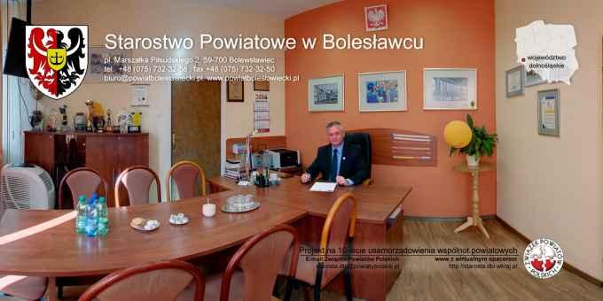 Prezentacja panoramiczna dla obiektu Starostwo Powiatowe w Bolesławcu