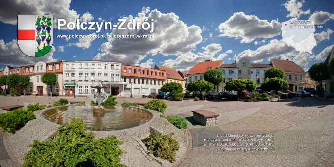 Prezentacja panoramiczna dla obiektu miasto Połczyn-Zdrój