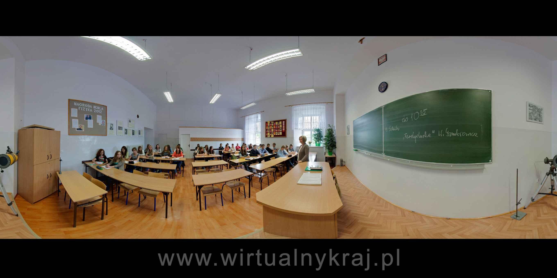 Prezentacja panoramiczna dla obiektu I Liceum Ogólnokształcące w Zamościu im. Jana Zamoyskiego