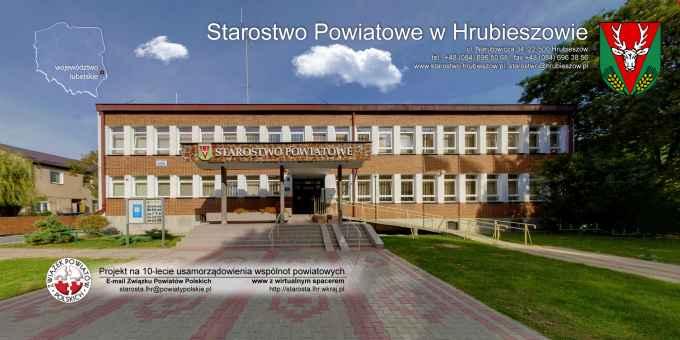 Prezentacja panoramiczna dla obiektu Starostwo Powiatowe w Hrubieszowie