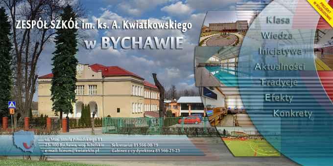 Prezentacja panoramiczna dla obiektu Zespół Szkół im. ks. A. Kwiatkowskiego w Bychawie