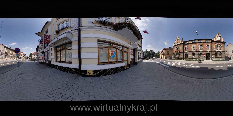 Prezentacja panoramiczna dla obiektu Starostwo Powiatowe w Bochni