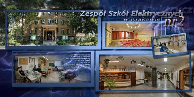 Prezentacja panoramiczna dla obiektu Zespół Szkół Elektrycznych nr 2 w Krakowie