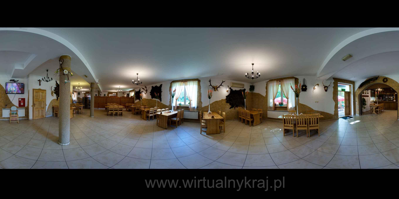 Prezentacja panoramiczna dla obiektu Zajazd Gajówka