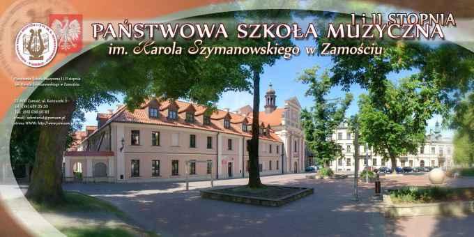 Prezentacja panoramiczna dla obiektu Państwowa Szkoła Muzyczna I i II st im. Karola Szymanowskiego