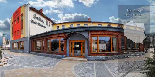 """Prezentacja panoramiczna dla obiektu """"Spichlerz"""" Hotel - Restauracja"""